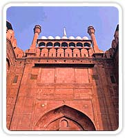 Lahore Gate at Red Fort, Delhi India